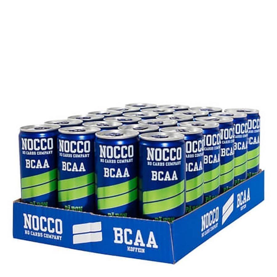 Nocco Bcaa 24 X 330 Ml Can 24 X 330 Ml Rasiat Strawberry & Rhubarb