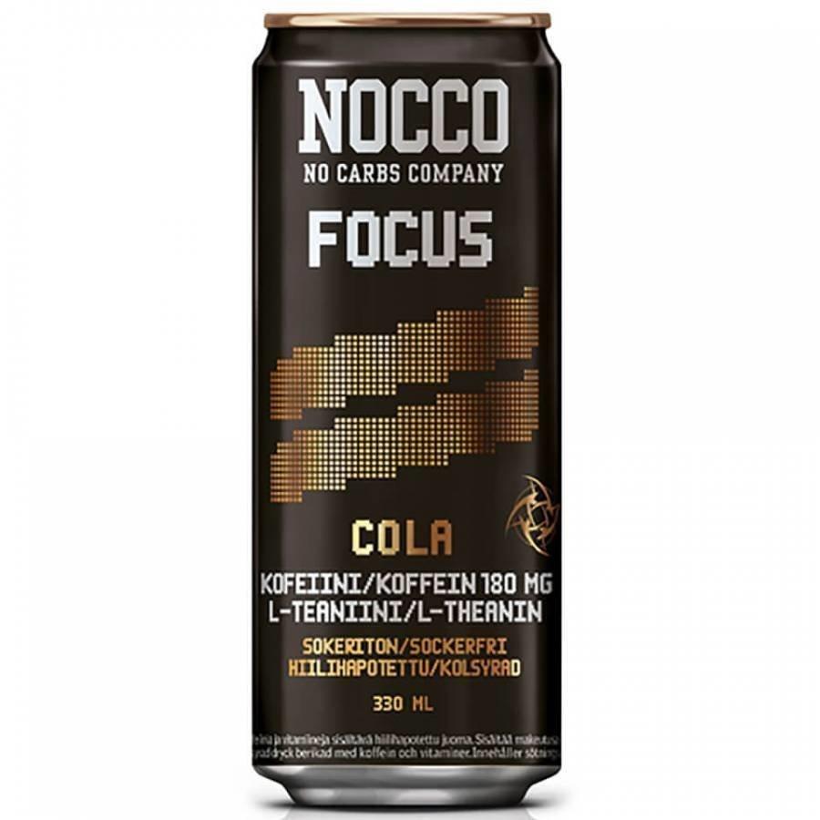 Nocco Focus 4 X 330 Ml 4 X 330 Ml Cola