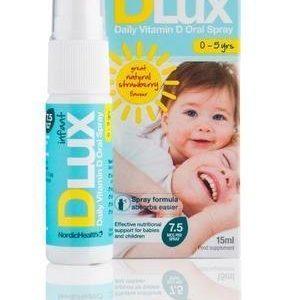 Nordic Health Dlux Vauva D-Vitamiinisuihke