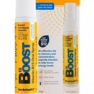 Nordic Health Sprays Boost B12-vitamiinisuihke
