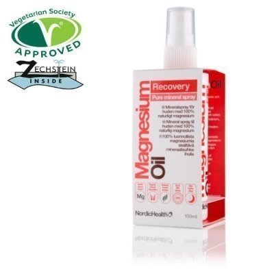 Nordic Health Sprays Magnesium sportsuihke matkakoko
