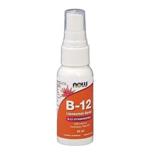 Now Foods B-12 Vitamiinispray