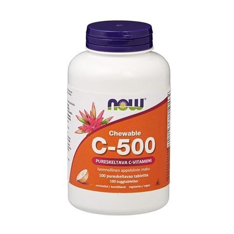 Now Foods C-500 Appelsiini
