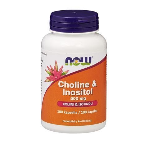 Now Foods Choline & Inositol