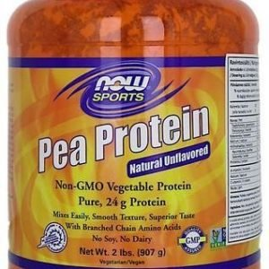 Now Foods Herneproteiini Maustamaton