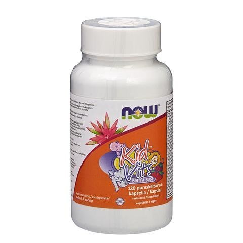 Now Foods Kid Vits Berry Blast