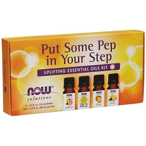 Now Foods Put Some Pep In Your Step Essential Oils Kit