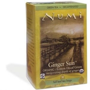 Numi Decaf Ginger Green Luomu Tee
