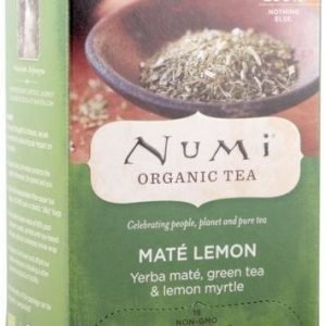 Numi Mate Lemon Green Luomu Tee