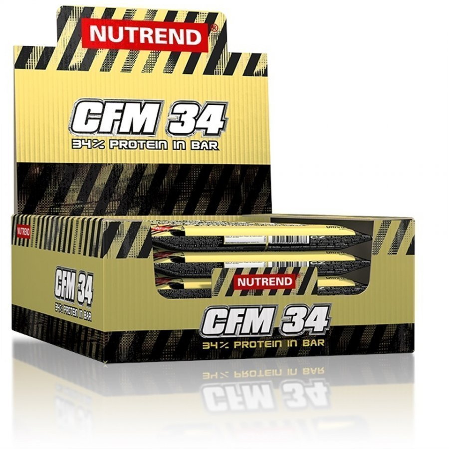 Nutrend Cfm 34 1x40 G Bar 24x80 G Bars Vanilla And Coconut