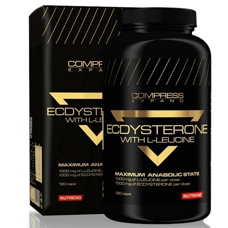 Nutrend Compress Ecdysterone 120 Capsules 120capsules