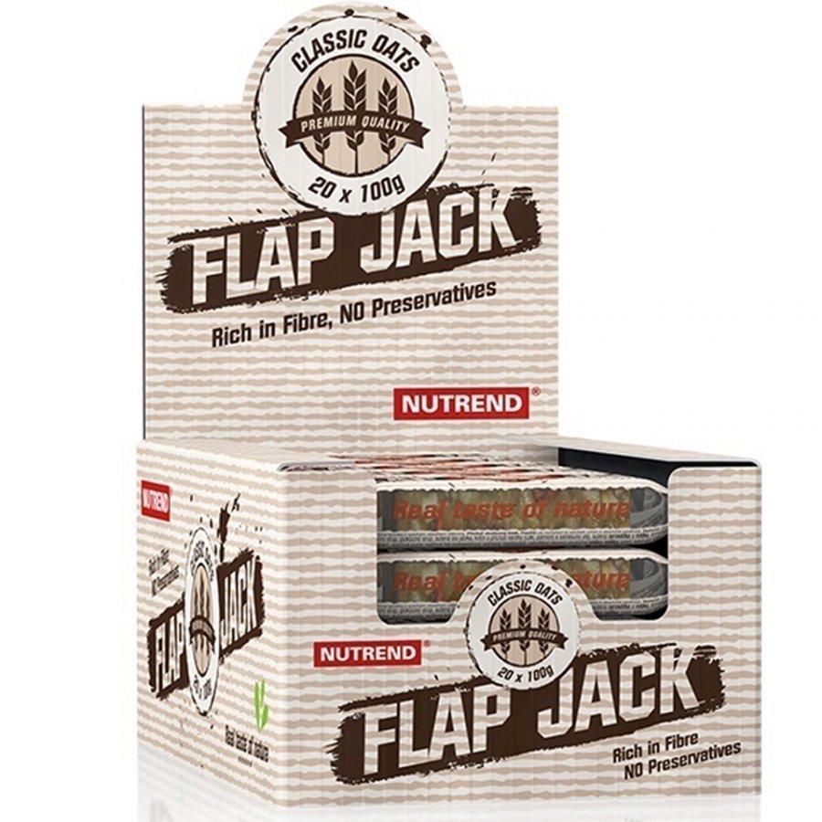 Nutrend Flapjack 20x100 G Bars Korvapuusti