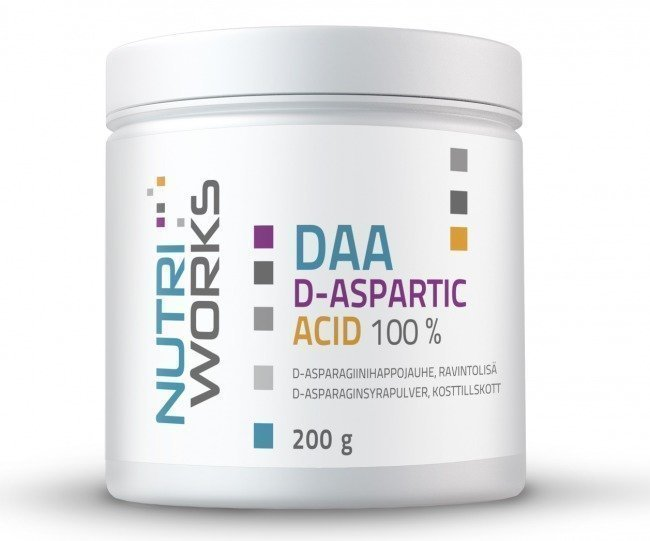 Nutri Works Daa D-Aspartic Acid 100%