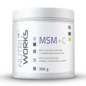 Nutri Works MSM + C