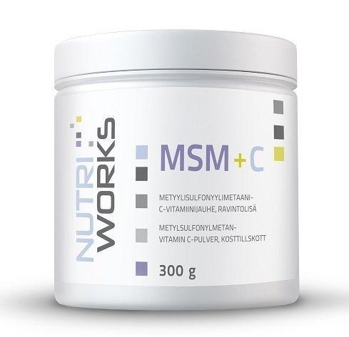Nutri Works MSM + C