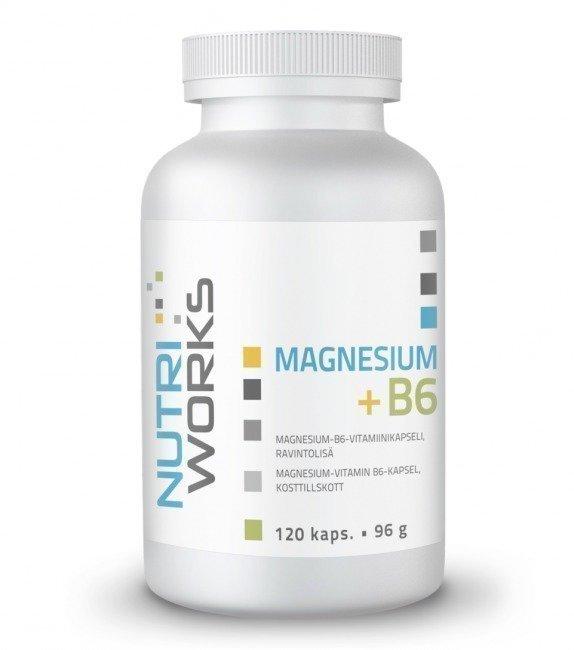 Nutri Works Magnesium + B6