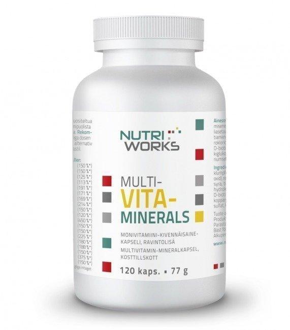 Nutri Works Multivita-Minerals