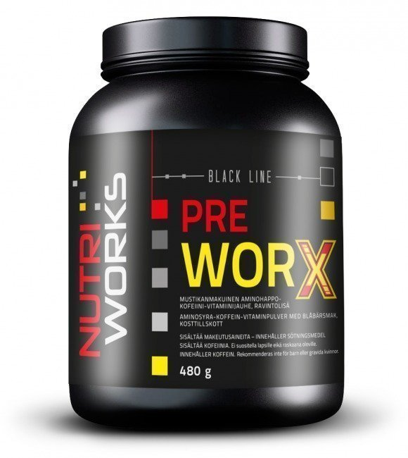 Nutri Works Pre Worx