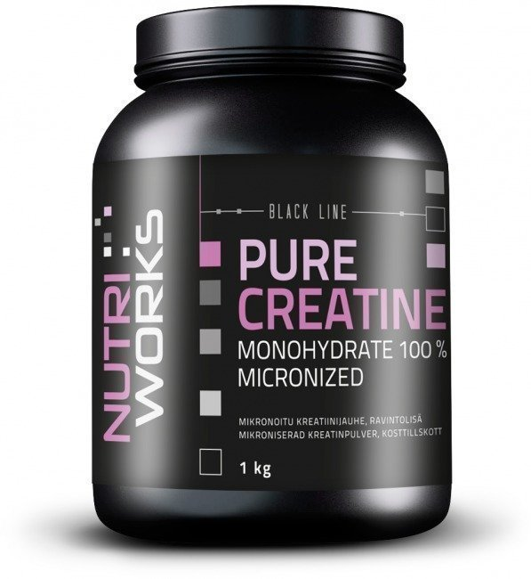 Nutri Works Pure Creatine Monohydrate 100%
