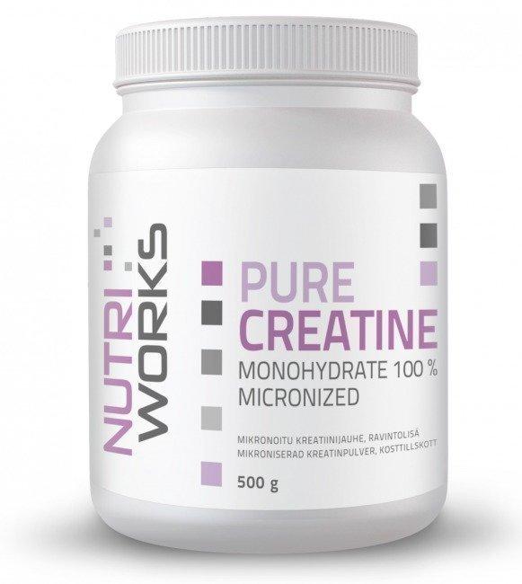 Nutri Works Pure Creatine Monohydrate 100%