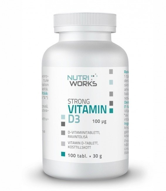 Nutri Works Strong Vitamin D3