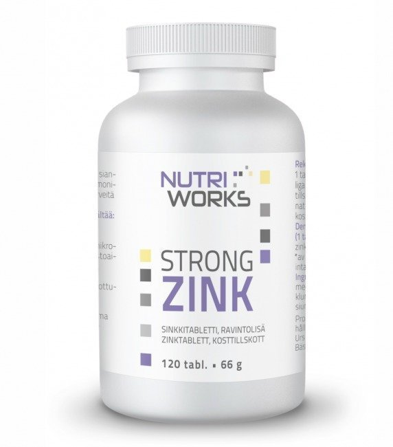 Nutri Works Strong Zink