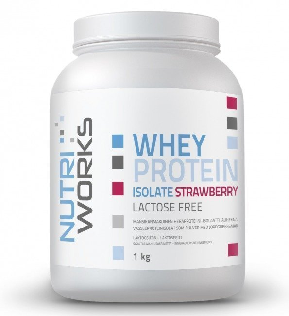 Nutri Works Whey Protein Isolate (laktoositon)