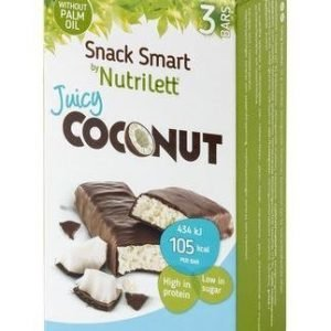Nutrilett Juicy Coconut Bar 3-Pack
