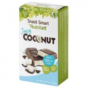 Nutrilett Juicy Coconut Kookospatukka 3 X 30 G