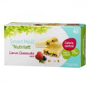 Nutrilett Lemon Cheese Ateriapatukka 4x56g