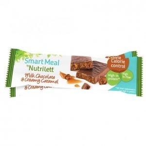 Nutrilett Maitosuklaa-Karamelli Ateriapatukka 60g