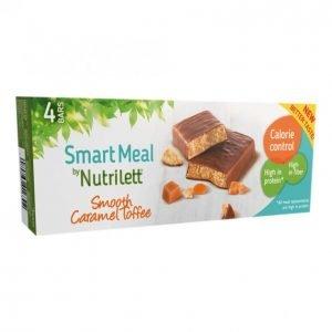 Nutrilett Smooth Caramel Ateriapatukka 4x56g
