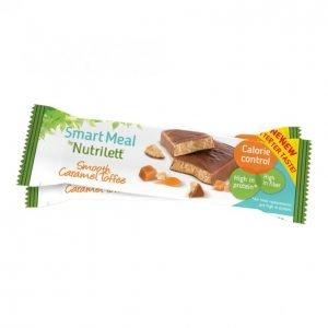 Nutrilett Smooth Caramel Ateriapatukka 56 G