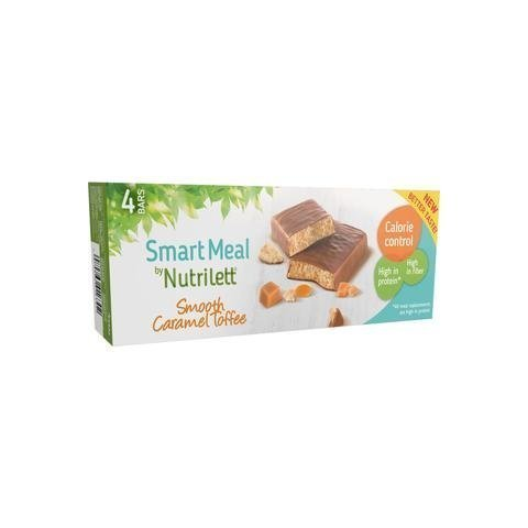Nutrilett Smooth Caramel Patukka 4-Pack
