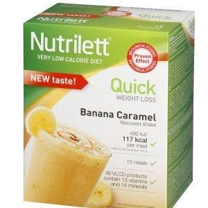 Nutrilett Vlcd Shake Banana-Caramel Pirtelö 15 X 33 G