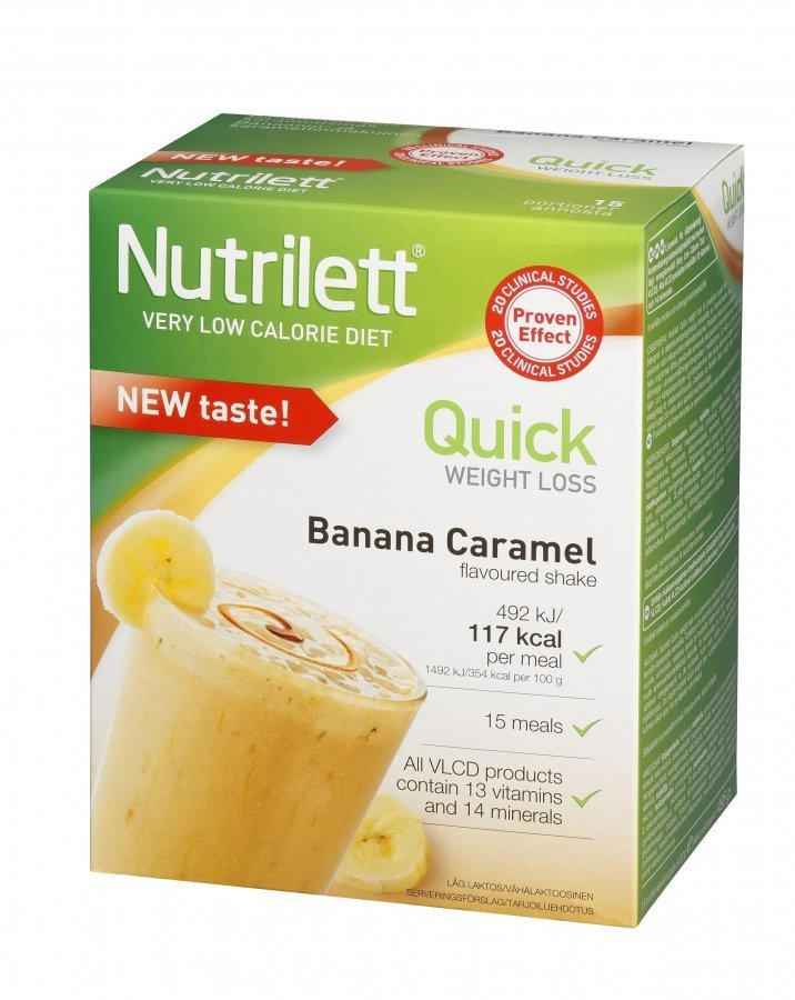 nutrilett banana caramel