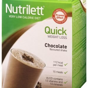 Nutrilett Vlcd Shake Chocolate Pirtelö 15 X 33 G