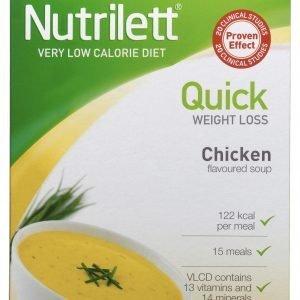 Nutrilett Vlcd Soup Creamy Chicken Pussikeitto 15 X 33 G