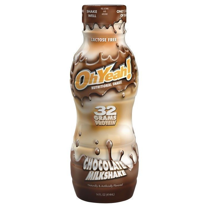 Oh Yeah! RTD 414 ml Chocolate Milkshake