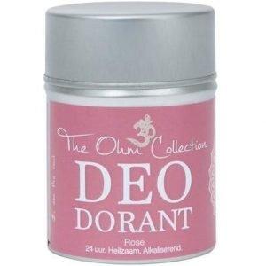 Ohm Jauhemainen Deodorantti Ruusu