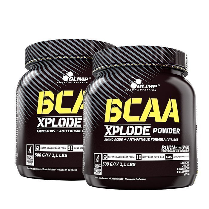 Olimp 2 x BCAA Xplode 500 g Mojito Limited Edition