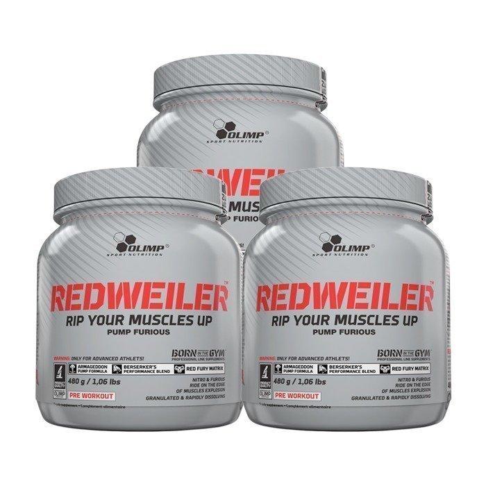Olimp 3 x Redweiler 480 g