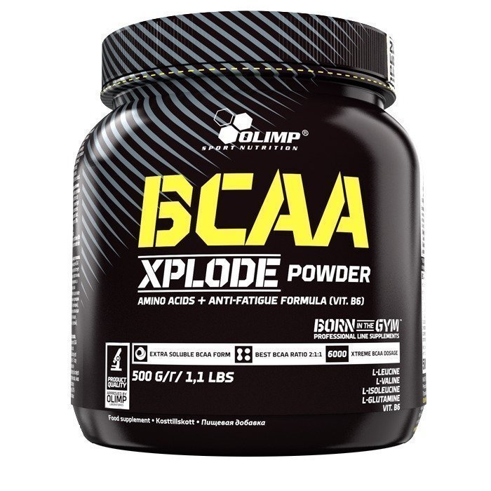 Olimp BCAA Xplode 500 g Fruit Punch