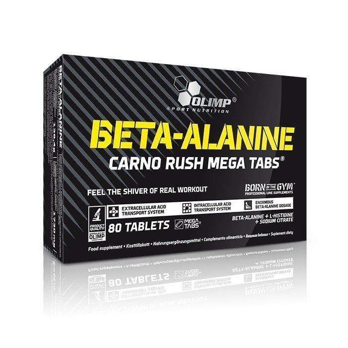 Olimp Beta Alanine Carno Rush 80 Mega Tabs