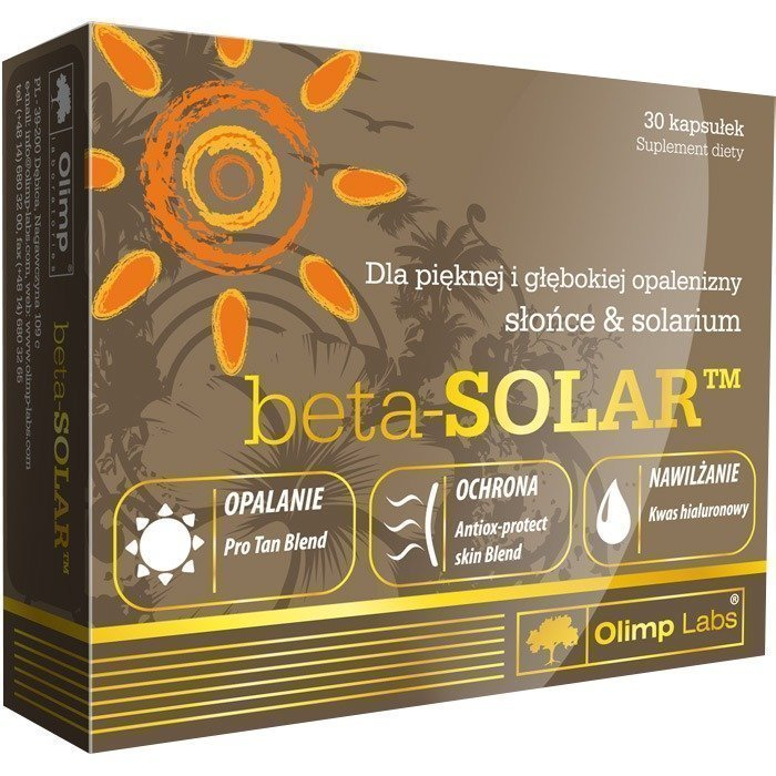 Olimp Beta Solar 30 kapselia