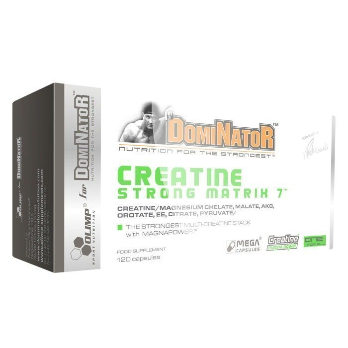 Olimp Creatine Strong Matrix 7 120 kapselia