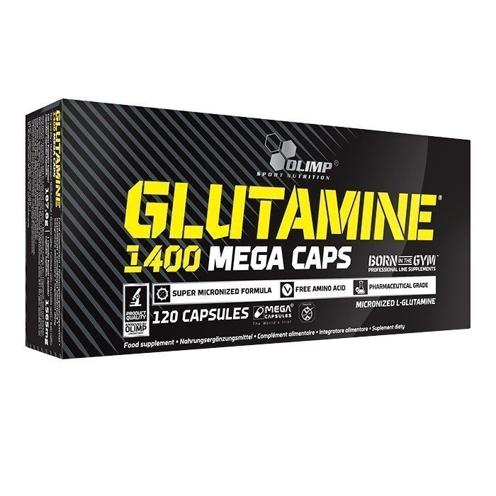 Olimp Glutamine Mega Caps 1400 120 caps