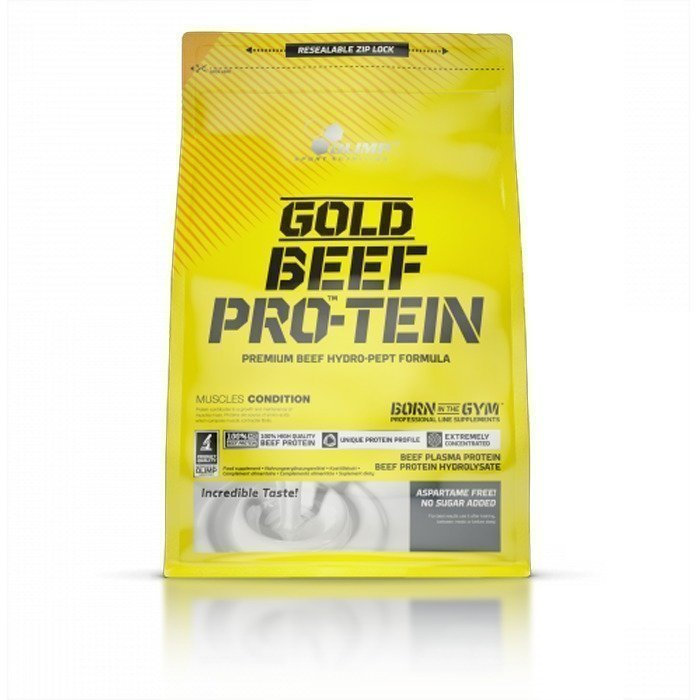 Olimp Gold Beef Pro-Tein 1800 g Cookies and Cream