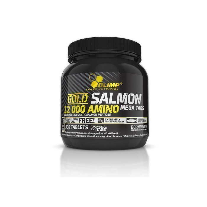 Olimp Gold Salmon 12000 Amino Mega Tabs 300 tabs