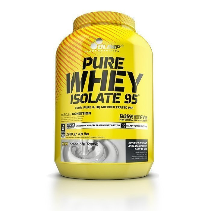 Olimp Pure Whey Isolate 95 600 g Strawberry